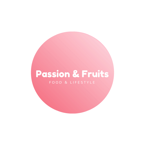 Passion & Fruits Sticky Logo